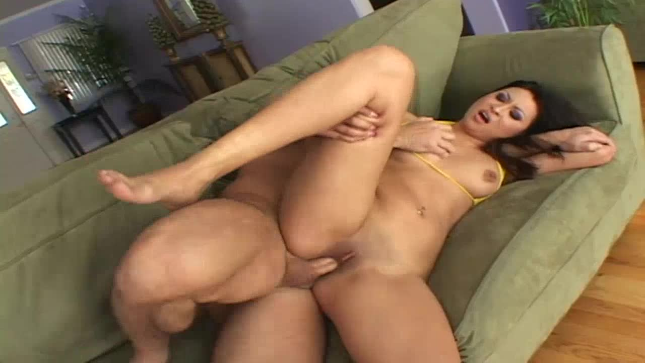 Sexy girl needs a big hard dick in her pussy. She got it !